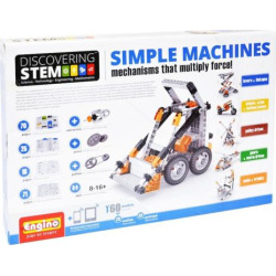 Engino Stem Simple Machines Kit, Multicolor