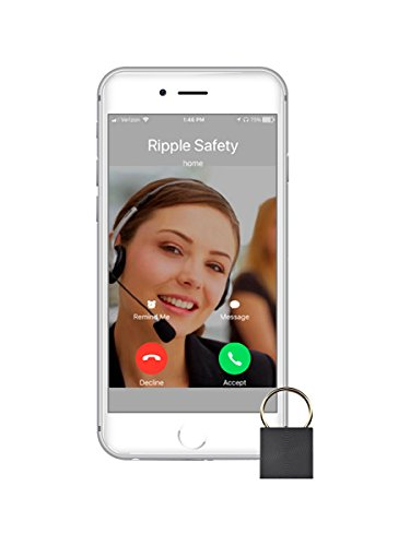Ripple 24/7 Personal Safety Monitoring. Never panic: our tiny button quickly sends GPS life alerts in emergencies (e.g, medical). Device includes 1 free year of professional 24/7 security dispatch.