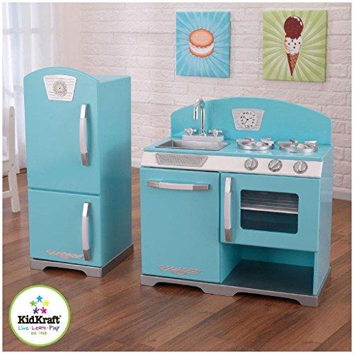 KidKraft 2-Piece Retro Kitchen, Blue