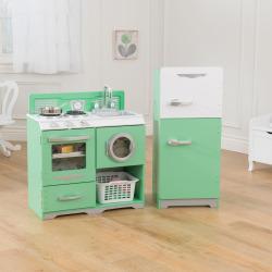 KidKraft Homestyle 2-Piece Kitchen, Green