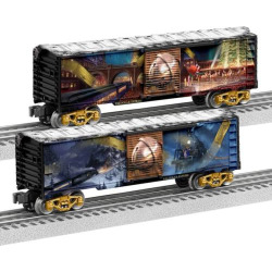 The Polar Express 2-pk. Boxcar Set by Lionel Trains, Multicolor