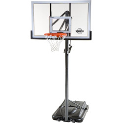 Lifetime 54-in. XL Base Acrylic Portable Basketball System, Black
