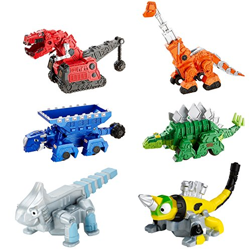 Mattel Dinotrux Bundle – Ty Rux, Garby, Ton-Ton, Skya, Revvit & Ace Die-Cast Vehicles