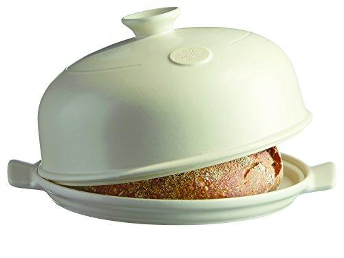 Emile Henry 505508 Bread Baker, 13.2 x 11.2 x 7, Linen