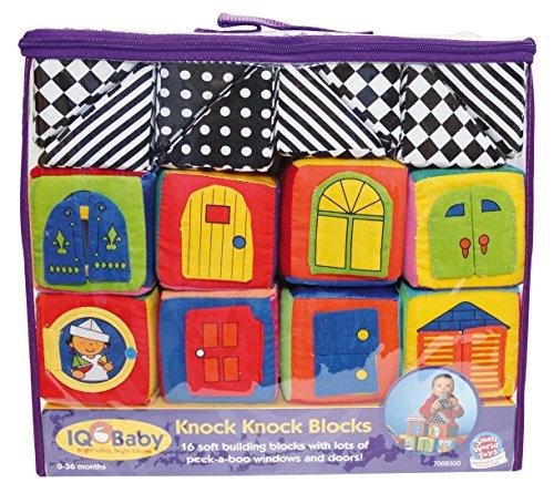 Small World Toys IQ Baby – Knock-Knock Blocks