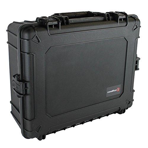 Condition 1 25″ XL #839 Black Waterproof Trunk with DIY Customizable Foam