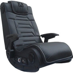 Pro Gaming Chair H3 Wireless with 4.1 Speakers and Vibration – Black – X-Rocker