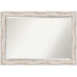 Wall Mirror Extra Large (41″ x 29″) Alexandria White wash
