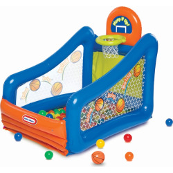 Little Tikes Hoop It Up! Play Center Ball Pit, Multicolor