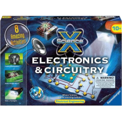 Ravensburger Science X Maxi Electronics and Circuitry Kit, Multicolor