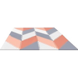 Skip Hop Activity Playmat – Gray/Peach (Gray/Pink)