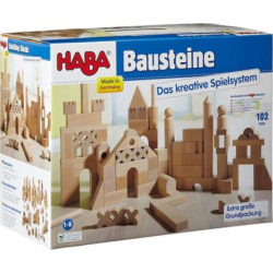 Haba Extra Large Building Blocks Starter Set, Multicolor