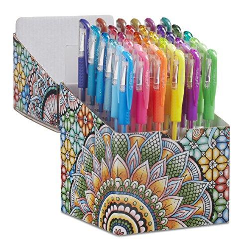 ECR4Kids GelWriter Gel Pens Set Premium Multicolor in Coloring Box (36-Count)