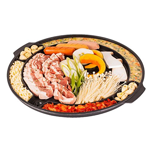 CookKing – Master Grill Pan, Korean Traditional BBQ Grill Pan