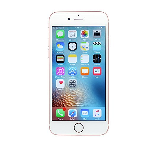 Apple iPhone 6S, Fully Unlocked, 16GB – Rose Gold (Certified Refurbished)