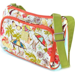 Olympia Quilted Crossbody Purse, Adult Unisex, Multicolor