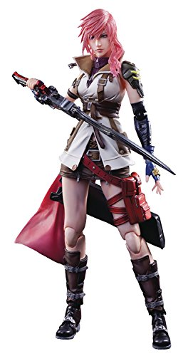 Square Enix Dissidia Final Fantasy: Lightning Play Arts Kai Action Figure