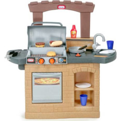 Little Tikes Cook 'n Play Outdoor BBQ Playset, Clrs