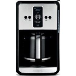 Krups Coffee Maker, Silver