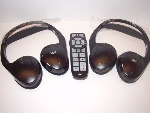 2006 2007 2008 2009 2010 2011 2012 for VES Chrysler Dodge Jeep IR wireless headphones headsets and remote