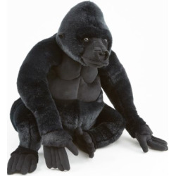 Melissa and Doug Gorilla Plush Toy, Multicolor