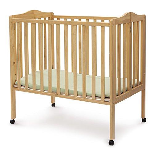Delta Children Portable Mini Crib, Natural