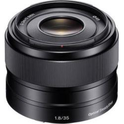 Sony E 35mm f/1.8 OSS Lens SEL35F18