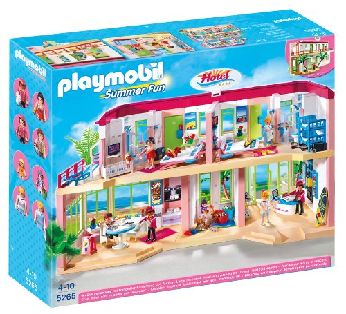 PLAYMOBIL Large Furnished Hotel