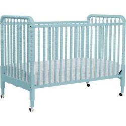 DaVinci Jenny Lind 3-in-1 Convertible Crib with Toddler Rail – Lagoon