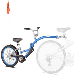 Youth WeeRide Aluminum Pro-Pilot Trailer, Blue