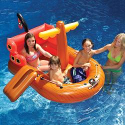 Swimline Galleon Raider Inflatable Pool Toy, Multicolor