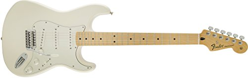 Fender Standard Stratocaster Electric Guitar – Maple Fingerboard, Arctic White