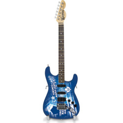 Toronto Maple Leafs NorthEnder Collector Series Mini Replica Electric Guitar, Multicolor