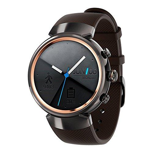 ASUS ZenWatch 3 (WI503Q) Smart Watch – International Stock (Black)