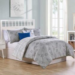 Vcny Home Blast Off Comforter Set, Grey