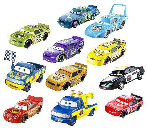 Disney/Pixar Cars Diecast Car Collection, 11-Pack(Discontinued by manufacturer)