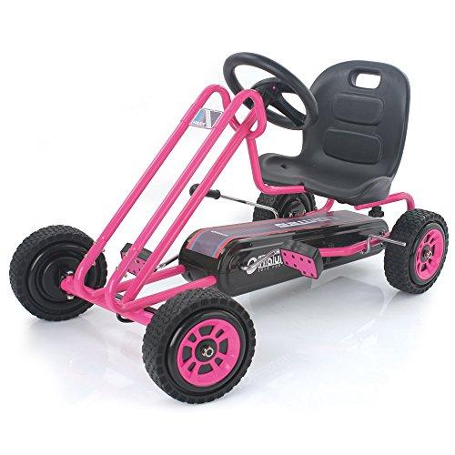 Hauck T90104 Pedal Go Kart, Pink
