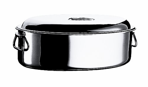 Mepra Oval Casserole with Lid, 45cm