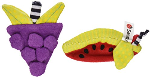 Sassy Terry Teethers, 2 Count