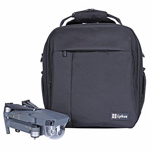 Lykus M1 Water Resistant Travel Backpack for DJI Mavic Pro, Mavic Pro Platinum, 4-in-1 Backpack/Case/Shoulder Bag/Cross Body Bag