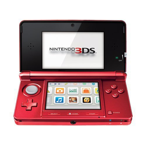 Nintendo 3DS – Flame Red
