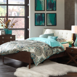Ink+ivy Cosmo Bed, Brown