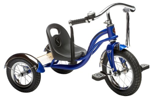Schwinn Roadster Tricycle, 12″ wheel size, Trike Kids Bike Blue