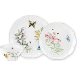 Lenox Butterfly Meadow 3-pc. Dinnerware Set, Multicolor