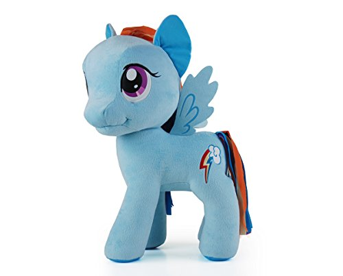 My Little Pony 20″ Rainbow Dash Plush Toy, Blue/Multi