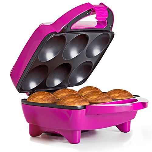 Holstein Housewares HF-09013M Fun Cupcake Maker – Magenta