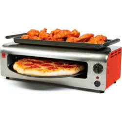 Ronco Pizza & More Pizza Oven, Red