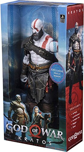 NECA – God of War (2018) – 1/4 Scale Action Figure – Kratos