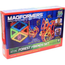 Magformers 47-pc. Forest Friends Set, Multicolor