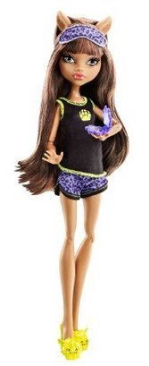 Game / Play Monster High Dead Tired Clawdeen Wolf Doll, tired, dolls, monster, high, school, monster Toy / Child / Kid
